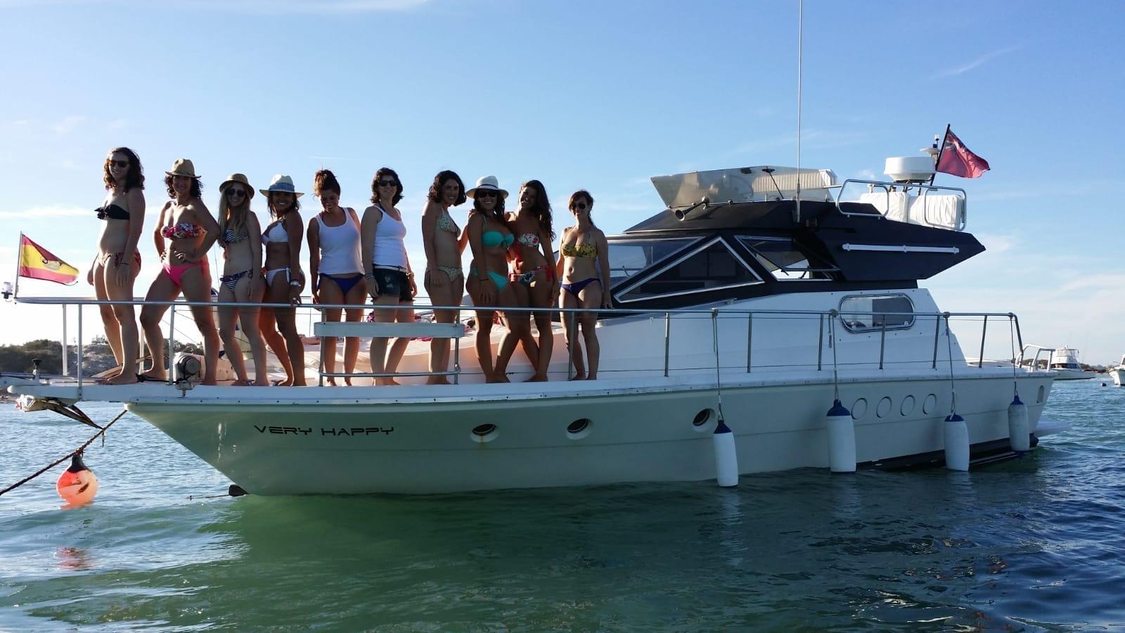 Barcos para fiestas en Málaga