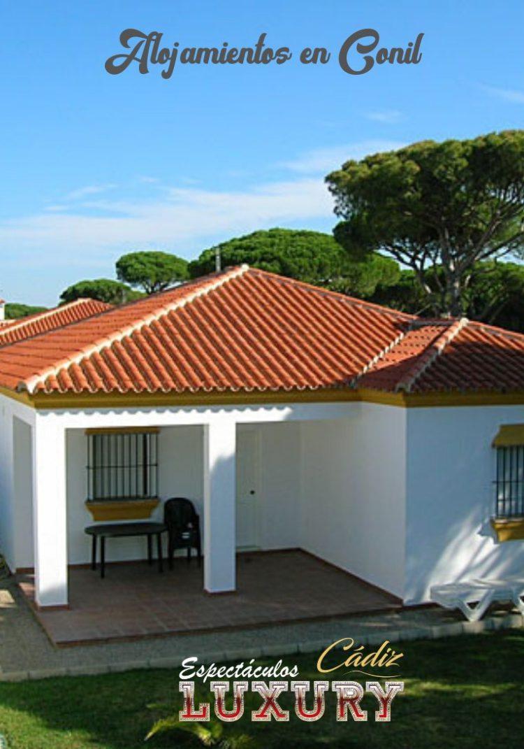 Alquiler de casas en Conil baratas para despedidas Chalet en Roche 2