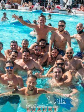 entrada Vip Piscina ocean occo Sevilla para grupos de despedida 1