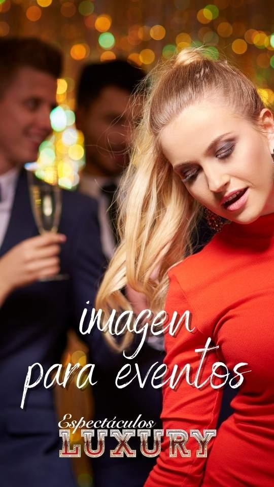 trabajar chicas imagen para eventos - agencia espectáculos luxury